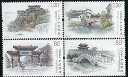 2019-10 CHINA Ancient Town(III) STAMP 4V - Ongebruikt