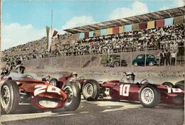 < Automobile Voiture Auto Car >> Ferrari F1 Shark Nose Bandini Baghetti Autodromo Perugia Enna, Carte Rare!! - Non Classés