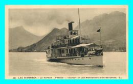 A850 / 209 74 - Lac D'ANNECY Le Vapeur France Duingt ( Bateau ) - Non Classés