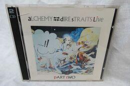 """2 CDs """"Alchemy - Dire Straits"""" Part Two Live - Rock"""