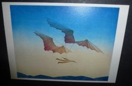 Carte Postale - Illustration Folon - Partir (1977) - Folon