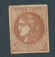 DS-174: FRANCE: Lot Avec N°40B NSG - 1870 Emisión De Bordeaux