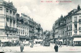 N°3222 R -cpa Lille -rue Enquermoine- - Lille