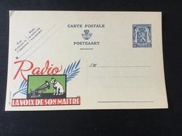 Publibel Neuf N°537 : La Voix De Son Maître - Stamped Stationery