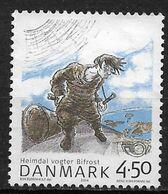 Denmark 2004. Scott #1273 (U) Heimdal Guarding Bifrost Bridge - Danimarca
