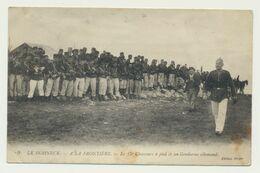 Guerre 1914 - LE HOHNECK..le 15ème Chasseur à Pied Et Un Gendarme Allemand - France