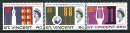 St Vincent 1966 20th Anniversary Of UNESCO Set MNH (SG 254-256) - St.Vincent (...-1979)