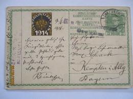 Österreich Schlesien Zensurkarte Aus Chrzanow Polen (31921) - War 1914-18