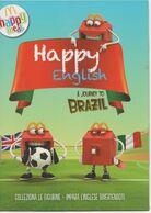 HAPPY ENGLISH MC DONALD'S DE AGOSTINI ALBUM 2014 - Unclassified