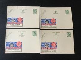 Publibels Neufs N°234\237 : Telefunken - Stamped Stationery