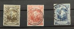 Congo 194-96 Protection De L'enfance Noire Avec Belles Oblitérations - 1923-44: Used