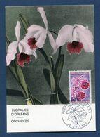 France - Carte Maximum - Floralies D'Orléans - 1967 - 1960-69