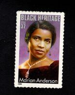 225972653 SCOTT 3896 POSTFRIS MINT NEVER HINGED POSTFRISCH EINWANDFREI BLACK HERITAGE - MARIAN ANDERSON - SINGER - Nuovi