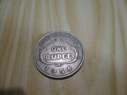 Seychelles - One Rupee Elizabeth II 1954.N°364. - Seychelles