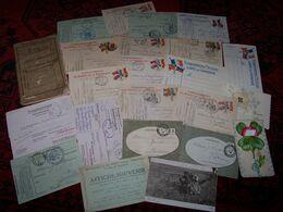 Lot De Correspondances Militaire 1914/1918  ..et Documents Divers..... - Documentos