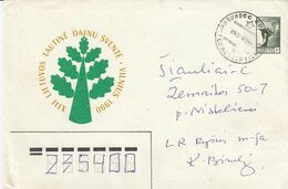 Lithuania Local Cover From Vilnius To Siauliai 1990 #25052 - Lituania