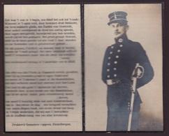VELD VAN EER RAMSCAPELLE 23 OKT 1914 - GEST.KALES  - FIRMIN DE VEIRMAN  DESTELBERGEN 1886    2 SCANS - Engagement