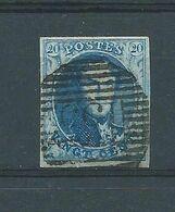 N°7   OBLITERE  P 153 BLOEMENDAELE - 1851-1857 Medaillen (6/8)