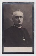 PASTOOR HEUSDEN  KAREL BORQUELMAN - GENT 1869 - HEUSDEN 1928   2 SCANS - Engagement
