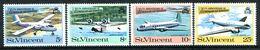 St Vincent 1970 20th Anniversary Of Regular Air Service Set MNH (SG 301-304) - St.Vincent (...-1979)