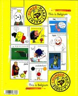 Belgium, 2011, Michel 4181-4189, This Is Belgium: Power Through Humour, Sheet Of 10 V,MNH - Nuovi