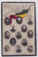 GESNEUVELDEN CLUYSENSCHE SOLDATEN 1914 - 1918      2 SCANS - Engagement