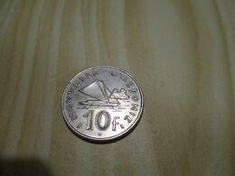 Nouvelle-Calédonie - 10 Francs 1970 .N°376. - Nuova Caledonia