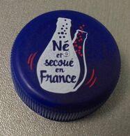 France Capsule Plastique à Visser Orangina Né Et Secoué En France - Soda