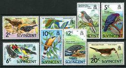 St Vincent 1973 Birds - Wmk. Upright - Set MNH (SG 361-368) - St.Vincent (...-1979)
