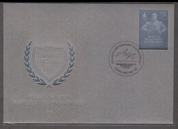 100 Years Since Estonia's First Olympic Victory Estonia 2020 Silver Stamp FDC - Estonia