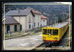 66  THUES  Les  BAINS  -  La  Gare ... Train Jaune - Otros Municipios