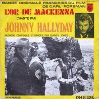 JOHNNY HALLYDAY - L'or De Mackenna - Musique De Films