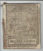 SUISSE 1792 LE VERITABLE MESSAGER BOITEUX DE BASLE BALE ALMANACH HISTORIQUE DES EVENEMENTS DE SEPT 1790 A SEPT 1791 - Bücher, Zeitschriften, Comics