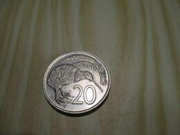 Nouvelle-Zélande - 20 Cents Elizabeth II 1975.N°381. - Nuova Zelanda