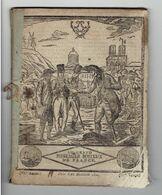 1824 LE GRAND MESSAGER BOITEUX DE FRANCE ALMANACH INSTRUCTIF ET AMUSANT FERDINAND VII D ESPAGNE PLACE SAINT PIERRE ROME - 1801-1900