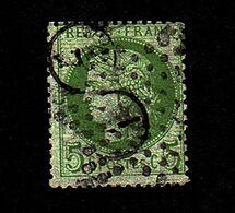 Céres 1871 N°53 5c Vert - 1871-1875 Ceres
