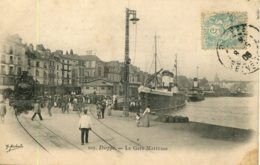 CPA -  DIEPPE - LA GARE MARITIME - Dieppe