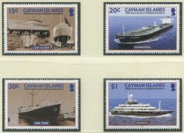 KAIMAN-INSELN / MiNr. 974 - 977 / 100 Jahre Schiffsregister Der Kaiman-Inseln / Postfrisch / ** / MNH - Barche