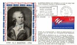 REVOLUTION FRANCAISE -  DANTON - ARCIS  S/AUBE - Franz. Revolution