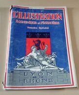 L'Illustration Economique Spécial 1924 Lyon Rhône Aménagement Rhône,Soieries,Carburateur Zenith,Filatures,Tarare,Thizy - Rhône-Alpes