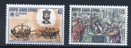Europa CEPT 1982 Chypre - Zypern - Cyprus Y&T N°561 à 562 - Michel N°566 à 567 *** - Europa-CEPT