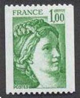 France N°1981Aa Neuf ** 1978 Avec N° Rouge Au Dos - Unused Stamps