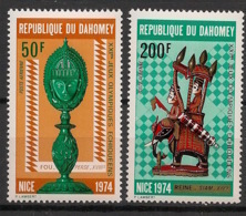 Dahomey - 1974 - Poste Aérienne PA N°Yv. 205 à 206 - Echecs - Neuf Luxe ** / MNH / Postfrisch - Benin – Dahomey (1960-...)