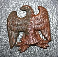 """Relique Napoléonienne XIXe """"Aigle Impériale Pour La Médaille Des Véterans Débris De La Grande Armée De Napoléon Ier"""" - Landmacht"""