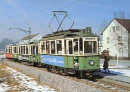 Tram/Strassenbahn Reutlingen,Triebwagen Nr.63,am Südbahnhof, Ungelaufen - Tranvía