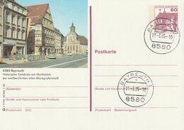 """Bundesrepublik Deutschland / 3 Bildpostkarten """"BAYREUTH"""" Je Mit Bildgleichem Stempel (A155) - Cartoline Illustrate - Usati"""