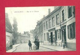 C.P. Mouscron =   Rue  De La Station - Mouscron - Moeskroen