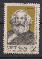 North Vietnam - 1968 - N°Yv. 592 - Karl Marx - Neuf Luxe ** / MNH / Postfrisch - Vietnam