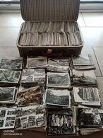 4300 Ansichtskarten S/w, Deutschland In Altem Koffer, 19 Kg - 500 Cartoline Min.