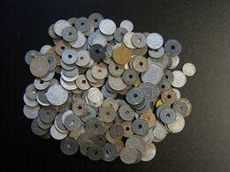 FRANCE - Lot De 195 Pièces De Monnaie A Trier - Dans Leur Jus - 500 Gr - Mezclas - Monedas